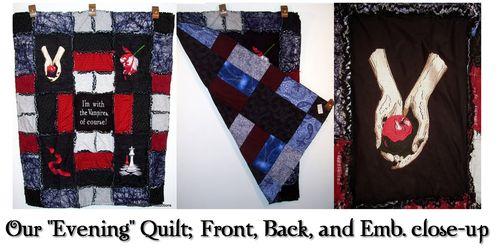 Evening quilt montage