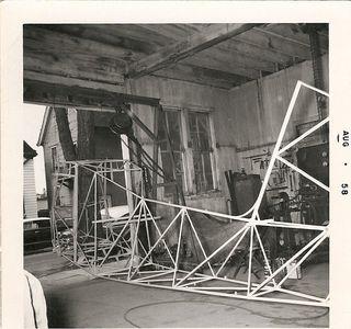 """Kit plane in the """"Soap Barn"""""""